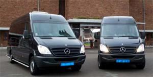 Groepsvervoer Groningen busjes voor station